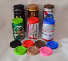 (4pcs/lot ) Food grade Silicone lids for coke cans and  beer can,Eco-friendly lids for pop cans, dustproof lids for SODA can