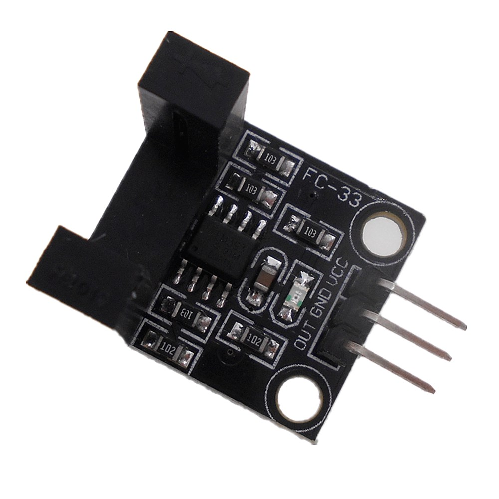 3PCS Optoelectronic sensor infrared radiation counting slot width 10MM