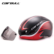CAIRBULL Goggles Cycling Helmet Bicycle Helmet Ultralight In-mold Casco Ciclismo With Goggles TT Road Bike Helmet(China)