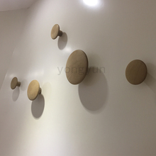 Modern Design wall hanger Solid wood dots Hanger Coat Hooks free combination modern Dots coat clothes hanger-5PCS /SET(China)