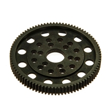 87T Wheel Gear for 1/10 RC Crawlers Center Gearbox Axial SCX-10 AX10 Cars Top Quality(China)