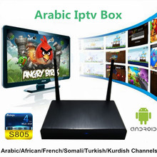 support skype iptv box arabic channels