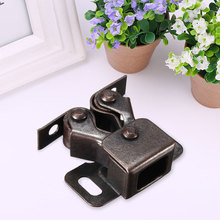 Double Roller Catch Cupboard Cabinet Door Latch Stainless Steel Kitchen(China)