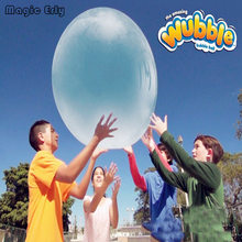 Big Bubble ball (without charge pump No Color box) Big balloon children toy wubble bubble ball