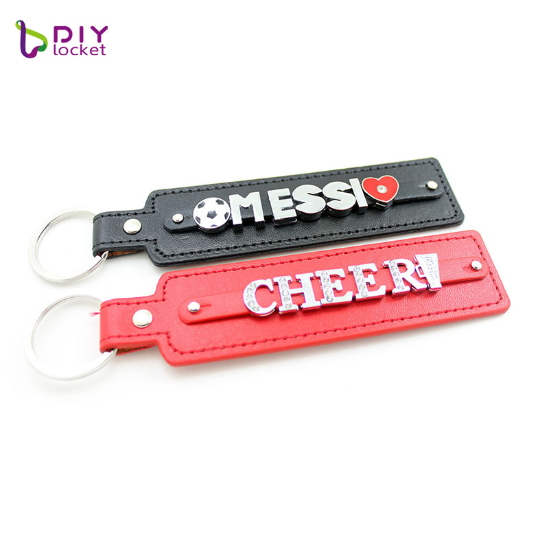PU leather keychain  LSBR017 2