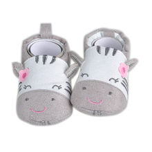 2017 Fashion New Autumn Winter Baby Shoes Girls Boy First Walkers Newborn Shoes 0-18M Shoes First Walkers(China)