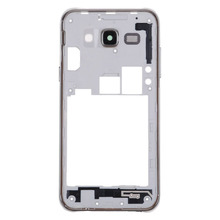 Replacement Parts Housing Middle Frame Bezel Case Cover For Samsung Galaxy J5 Silver Housing +Side Button