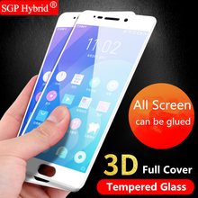 Full Coverage Tempered Glass Protector For Meizu M5s M5 S U10 U20 M3 mini M6 Note Pro 5 6 7 MX6 U 10 20 pro5 pro6 pro7 Film Case(China)