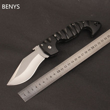 BENYS New  Cold Steel Camping Tactical Knife 440CBlade Utility Folding Knife Hunting Tools Outdoor Pocket survival knife
