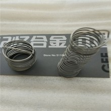 Nitinol Shape Memory Alloy springs, Nickel-titanium memory alloy spring, Paypal is available