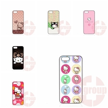 cute cartoon hello kitty For Samsung Galaxy J1 J2 J3 J5 J7 2016 Core 2 S Win Xcover Trend Duos Grand Accessories Hard Skin