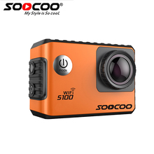 SOOCOO S100 4K Sport Camera 4K Wifi Built-in Gyro with GPS Extension(GPS Model not include) Action Cam(China)