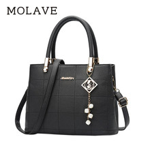 Buy MOLAVE handbag bag female pu leather shoulder bags women tassel designer handbags high pockets Zipper handbag dec28 for $18.88 in AliExpress store