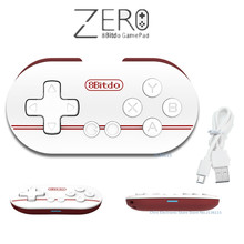 Original 8Bitdo Zero Mini Wireless Bluetooth V2.1 Game Controller Gamepad Joystick Selfie for Android iOS Window Mac OS