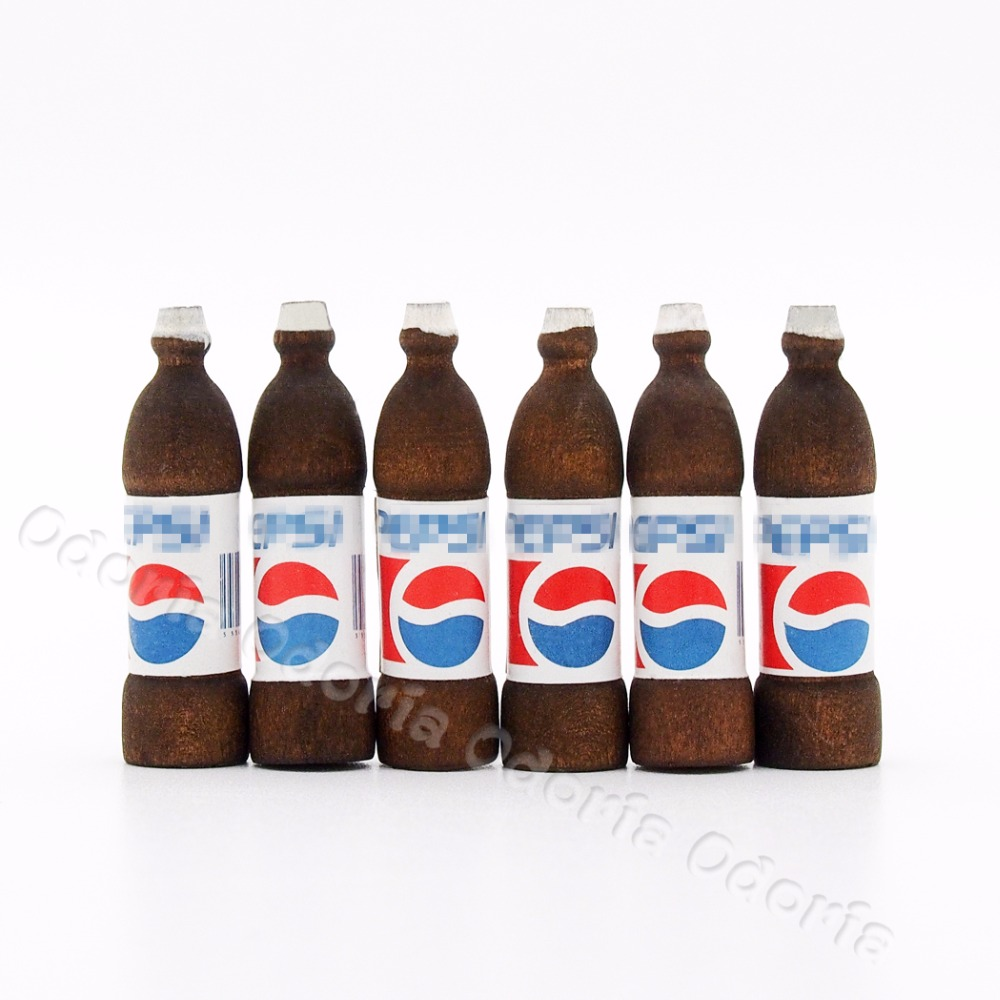 4 Ice PEPSI Cup Dollhouse Miniatures Food Soda Soft Drink Beverage Wholesale Lot