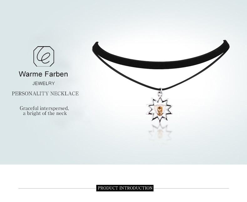 Detail Feedback Questions about WARME FARBEN Women Necklace Baroque ... d64ead51fdf1