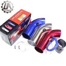 LA racing-Aluminum pipe manufacturers silicone car air filter intake pipe,cold air intake for TT 1.8T mit 225PS air intake hose