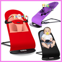 High Quality Portable Newborn Infant Folding Novelty Swing Rocking Chair for Baby Lounge Recliner Children Cradle Swing 0~3 Y(China)
