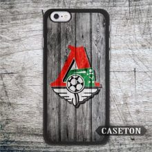 Lokomotiv Moscow Football Case For iPhone 7 6 6s Plus 5 5s SE 5c 4 4s and For iPod 5 Classic Sport Club
