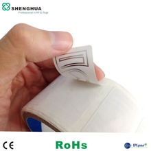10pcs/pack 36*22MM Printable RFID LABEL UHF TAG Antenna Sticker with H3 iso 18000-6c(China)