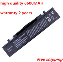 NEW 6600 mah Laptop battery for Samsung AA-PB9NC5B AA-PB9NC6B R518 R519 R520 R522 R540 R580 R620 R700