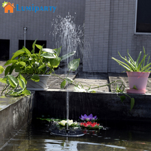 Lumiparty Hot Sale 7V Floating Water Pump Solar Panel Garden Plants Water Power Fountain Pool(China)
