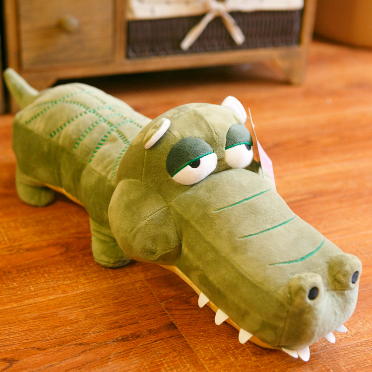 candice guo! super cute plush toy cartoon big eyes crocodile lizard stuffed doll home decoration birthday gift 1pc<br><br>Aliexpress