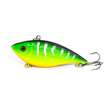 1PCS Fishing Lure Lipless Trap 7CM 10.5G Crankbait Hard Bait Fresh Water Deep Water Bass Walleye Crappie Minnow Fishing Tackle(China)