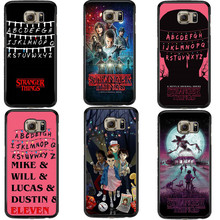 Stranger Things Christmas Lights Hard PC Phone Case For Samsung Galaxy S5 S6 S7 Edge S8 S8 Plus J3 J5 J7 2016 A3 A5 A7 2017(China)