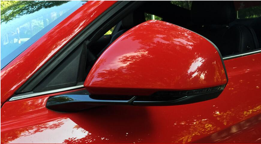 side mirror trim for Ford Mustang car accessories (11)