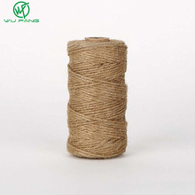 100M 1mm Gift Box String Rope Natural Jute Twine Cord Hemp Jute Ropes for DIY Floral Craft Scrapbooking Wedding Tags Decor