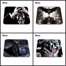New Arrivals Hot Sale Luxury Printing Batman  Cool  aming Laptop Black Mouse Pad Mat for Optal Trackball Laser Mouse