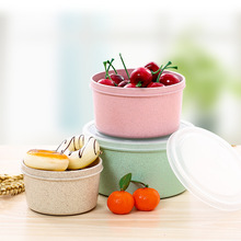 3-in-1 Food Container Food Grade Plastic Bento Fresh-Keeping Box Fridge Multi Capacity Crisper Microwave Lunch Box(China)