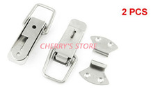 2 Set Hardware Tool Chests Case Toolbox Stainless Steel Toggle Latch(China)