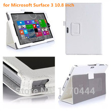 New Wallet  leather protection Case with Holding card Cover capa para For Microsoft Surface 3 10.8 inch Tablet  PC+pen as a gift