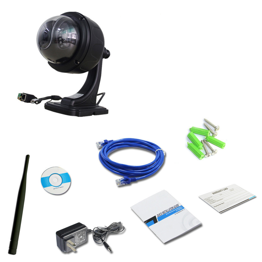 ZILNK 960P HD PTZ Speed Dome Camera DH47H Black (2)