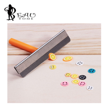 1PCS Razor Fimo Polymer Clay Canes Rods Blade Cutter for 3D Nail Art Decorations Fruit Sticks Charms Slices Tools Foil DIY Set(China)
