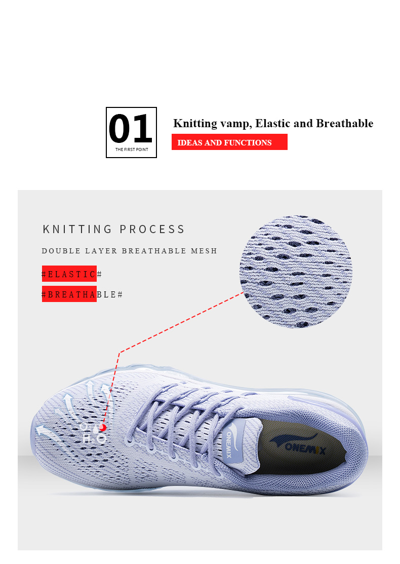 17 Air Cushion Running Shoes Breathable Massage Sneakers Man Jogging Sport Sneakers for Outdoor Walking Shoe Run Comfortable 6