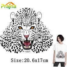 Prajna Fever Cool Patch Jaguar Patch Thermal Transfer Patch For Clothing Applique For Clothes Shirt DIY cheap Decor Washable