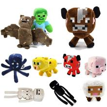 10pcs/lot Minecraft Plush Toy Brinquedos Game Toys Cheapest Sale High Quality Plush Toys Cartoon Game Toys(China)