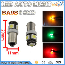 4 x BA9S T4W H21W H6W LED canbus 2w high power LED lamp 125 LM Car External Side Turn Signals led lights 12v white red blue