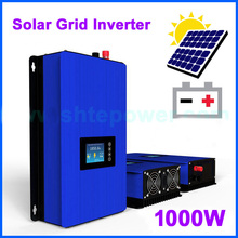 1000W on Grid Tie Inverter Solar Panels Battery Home Power PV System Sun-1000G2 DC 22-65V 45-90V AC 90V-130V 190V-260V(China)