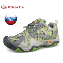 (Shipped From USA Warehouse)2017 Clorts Womens Water Shoes Summer Outdoor Shoes Quick-Dry PU Mesh For Women WT-24A