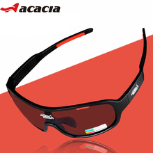 ACACIA Polarized Cycling Sun Glasses Outdoor Sports Road Bicycle Bike Sunglasses TR90 Goggles Eyewear 3 Lens Bicycle Accessory