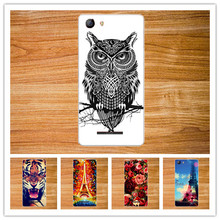 Popular 3D diy Cute Painted Case For Micromax Spark 2 Q334 Flower Tower Animal Stand Design case cover For Micromax Spark 2 Q334