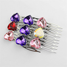Ms selling affordable new popular purple pink yellow red hair accessories factory outlet girl strip of the girls Birthday party
