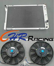 3 Row Aluminum Radiator & Fan*2 for 1982-1992 Pontiac Firebird/ for Trans Am/for Chevy Camaro brand new(China)