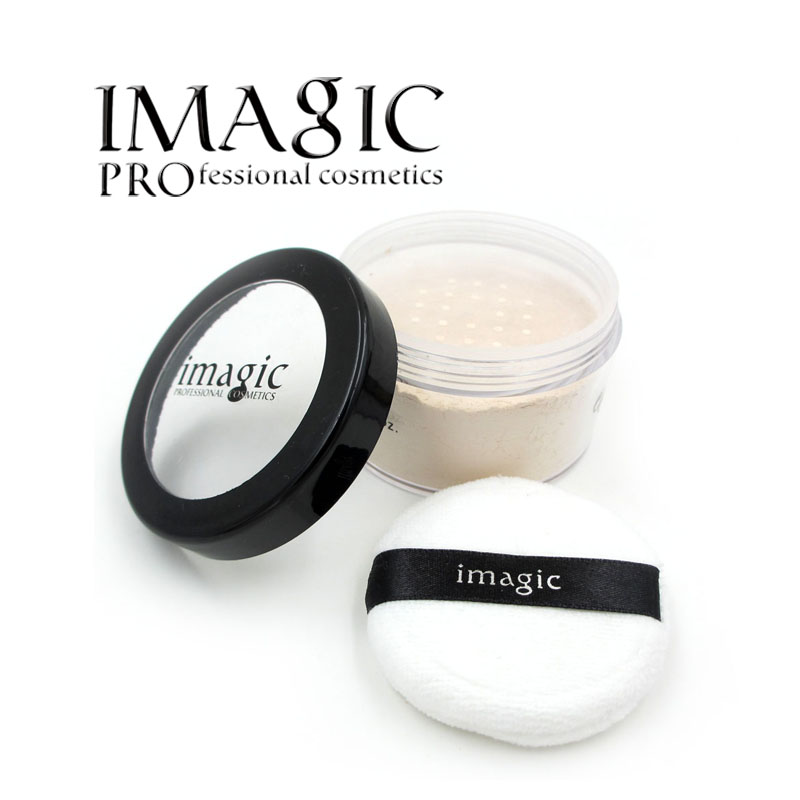 IMAGIC Powder Oil Control Loose Powder cosmetics Makeup mineral powder Whitening Brighten Skin Tone Ultra-Light Perfecting(China (Mainland))