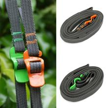 2 PCS/lot Outdoor Tie Down Accessory Straps Baggage Backpack Belt Travel Luggage Strap Travel Kits 250CM Long