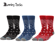 New arrived brand trend cool skate men&women socks quality compression terry socks no original logo T32(China)